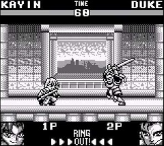 Battle Arena Toshinden Gameboy Image 3